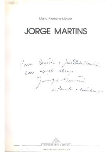 Jorge Martins - Com Dedicatoria da Artista