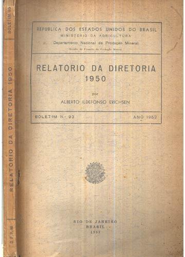 Relatorio da Diretoria - 1950