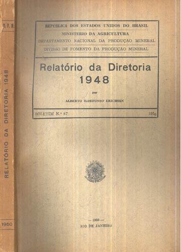 Relatório da Diretoria - 1948
