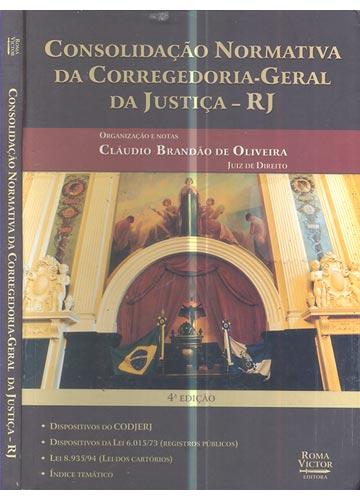 Consolidação Normativa da Corregedoria-Geral da Justiça - RJ