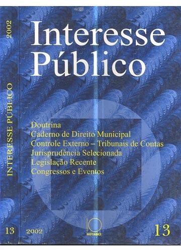 Interesse Público - Nº.13