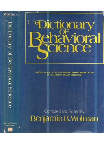 Dictionary of Behavioral Science