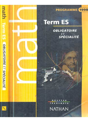 Term Es - Obligatoire et Spécialité