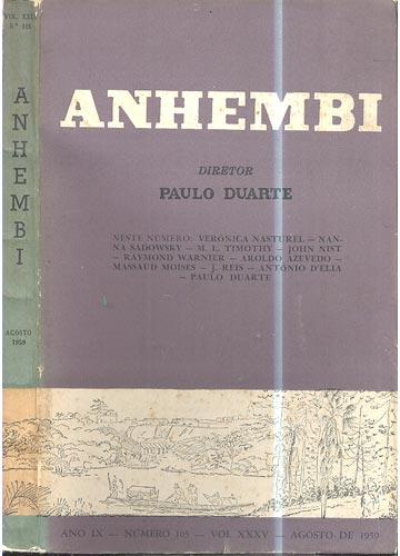 Anhembi - Nº 105 - Volume XXXV