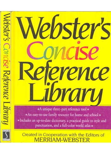 Webster's Concise Reference Library
