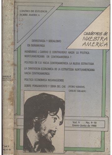 Cuadernos de Nuestra América - volume V - No 9-10 Enero-Junio de 1988