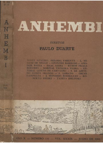 Anhembi - Nº 116 - Volume XXXIX