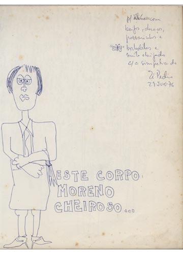 Zé Pedro - Desenhos Musicados -  Com Dedicatoria do Artista