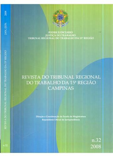 Revista do Tribunal Regional do Trabalho da 15ª Região - Nº.32