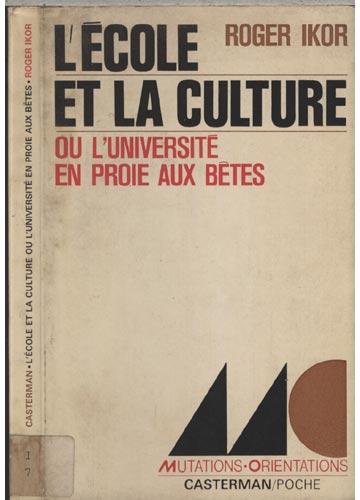 L'École et la Culture
