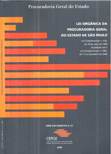 Lei Orgânica da Procuradoria Geral do Estado de São Paulo