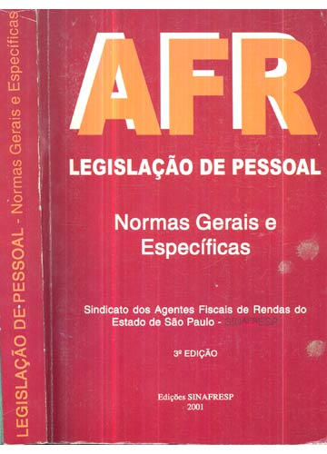 Legislação de Pessoal