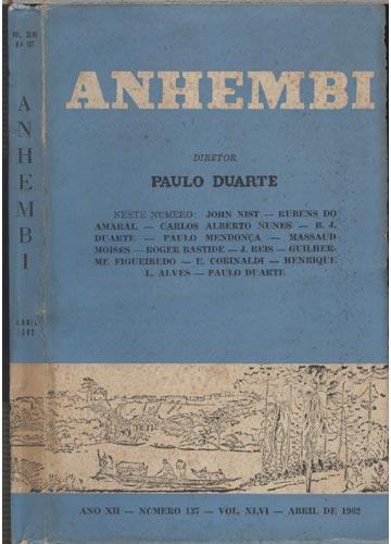 Anhembi - Nº 137 - Volume XLVI