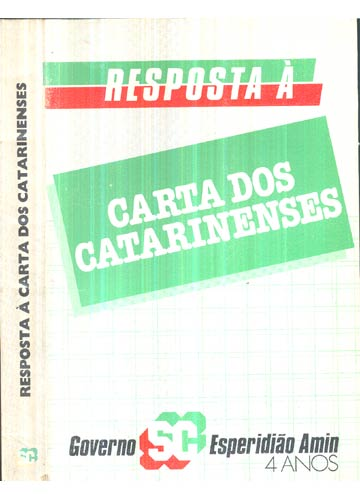 Resposta à Carta dos Cararinenses