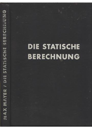 Die Statische Berechnung