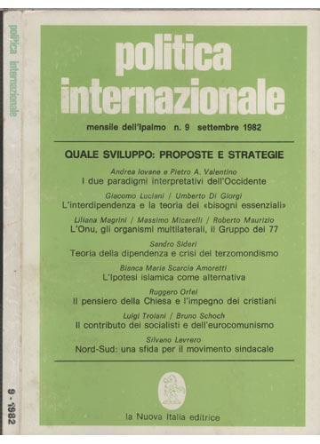 Politica Internazionale - 9-1982