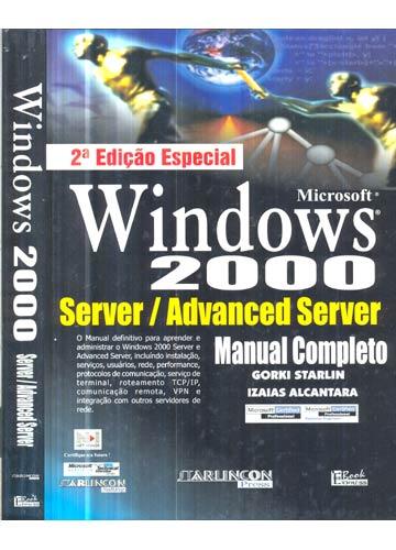 Windows 2000 - Server / Advanced Server