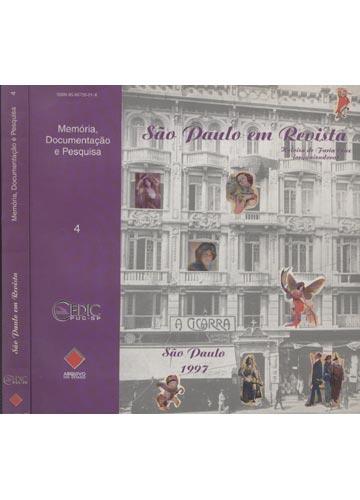 São Paulo em Revista - Memória Documentação e Pesquisa - Volume 4