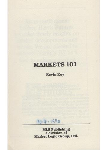 Markets 101