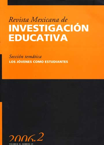 Revista Mexicana de Investigación Educativa - Volumen XI - Nº 29
