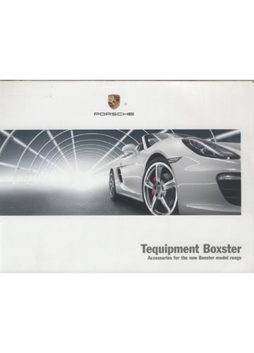 Tequipment - Acessories for the New Boxster Model Range
