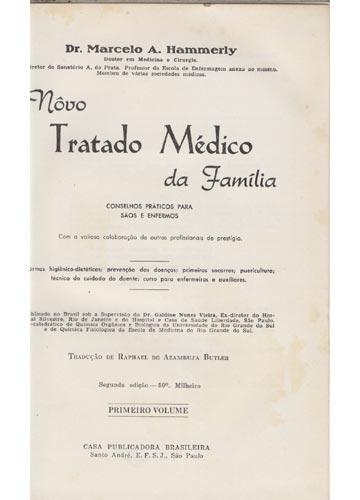 Novo Tratado Médico da Família - 2 Volumes