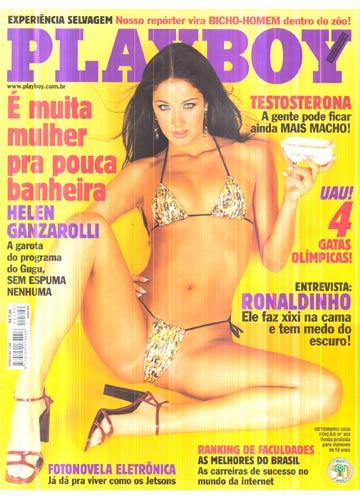 Playboy N Helen Ganzarolli Sem Poster