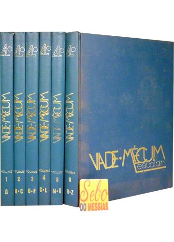 Vade-Mécum Escolar - 6 Volumes