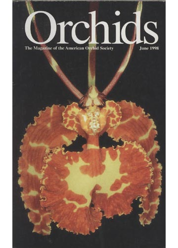 Orchids - The Magazine of The American Ordchid Society - June 1998
