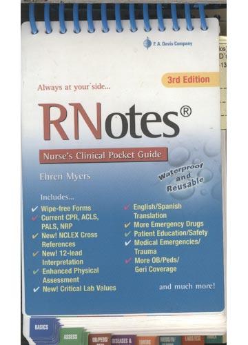 RNotes - Nurse's Clinical Pocket Guide