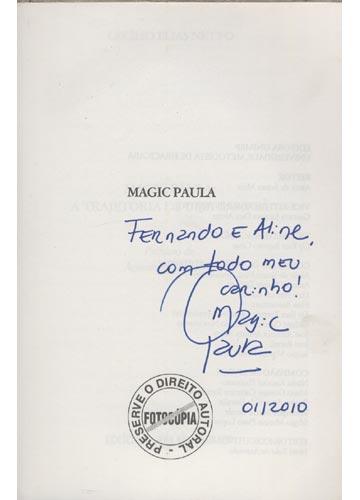 Magic Paula A Trajetória de uma Campeã -  Com Dedicatória da Atleta