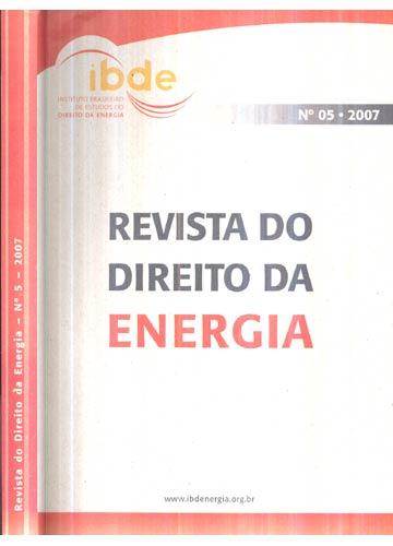 Revista do Direito da Energia - Nº.05