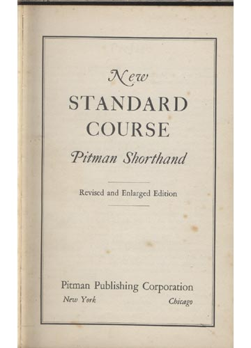 New Standard Course