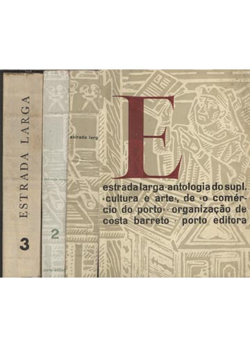 Estrada Larga - 3 Volumes