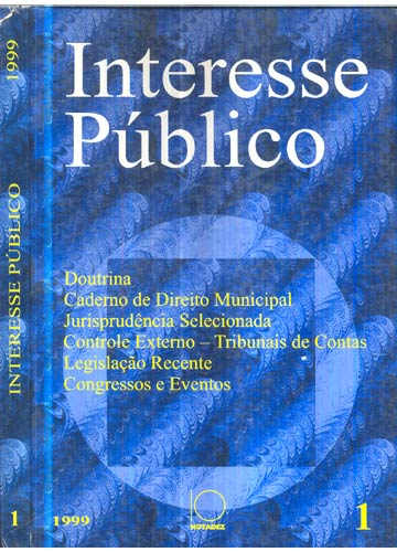Interesse Público - Nº.01