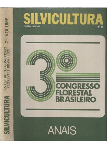 Silvicultura - Anais do 3º Congresso Florestal Brasileiro - Volume 2