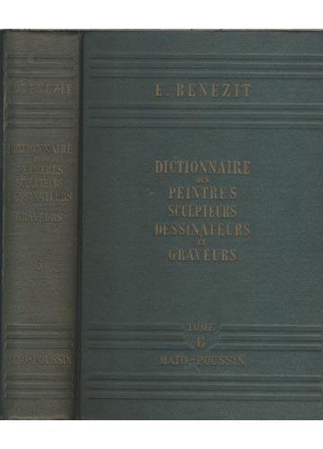 Dictionnaire des Peintres Sculpteurs Dessinateurs et Graveurs - Volume 6