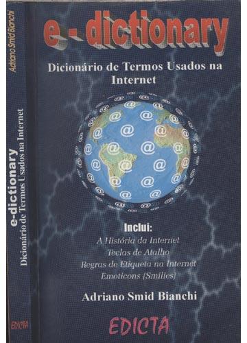 E-dictionary - Dicionário de Termos Usados na Internet - Com CD