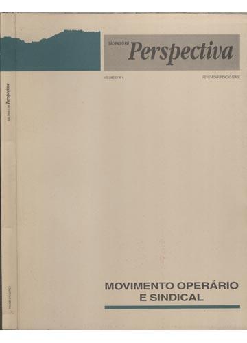 São Paulo em Perspectiva - Volume 12 - N°1