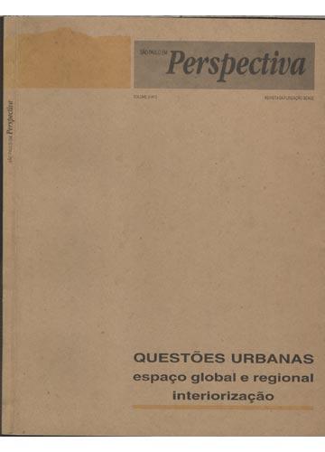 São Paulo em Perspectiva - Volume 9 - N° 3