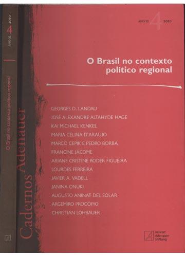 O Brasil no Contexto Político Regional - 2010