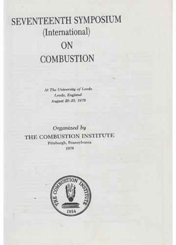 Seventeenth Symposium International on Combustion