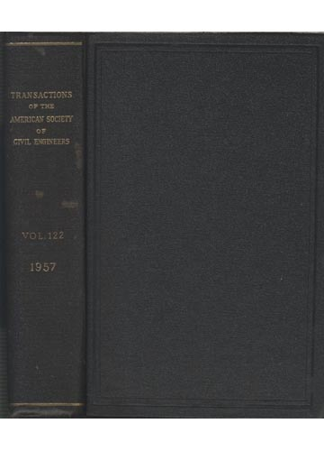 Transactions of the American Society of Civil Engineers - Volume 122