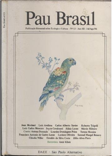 Pau Brasil - Nº 13 - Ano III - Jul / Ago / 86