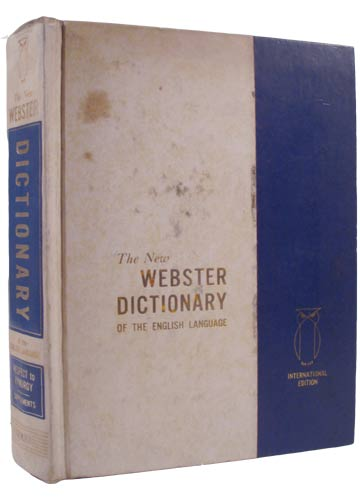 The New Webster Dictionary of the English Language - Volume 2