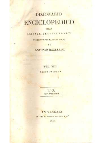 Dizionario Enciclopedico - Volume 8
