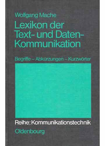 Lexicon der Text - und Datenkommunikation