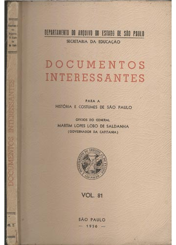 Documentos Interessantes - Volume 81