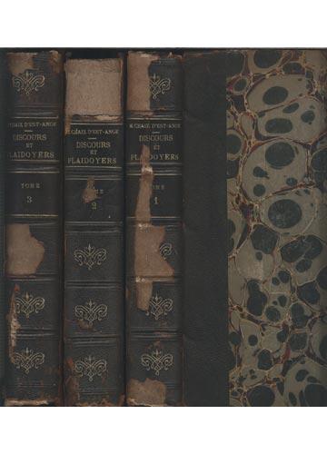 Discours et Plaidoyers - 3 Tomos