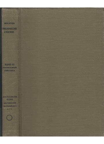 Organische Chemie - Band XI - Esocyclische Reihe